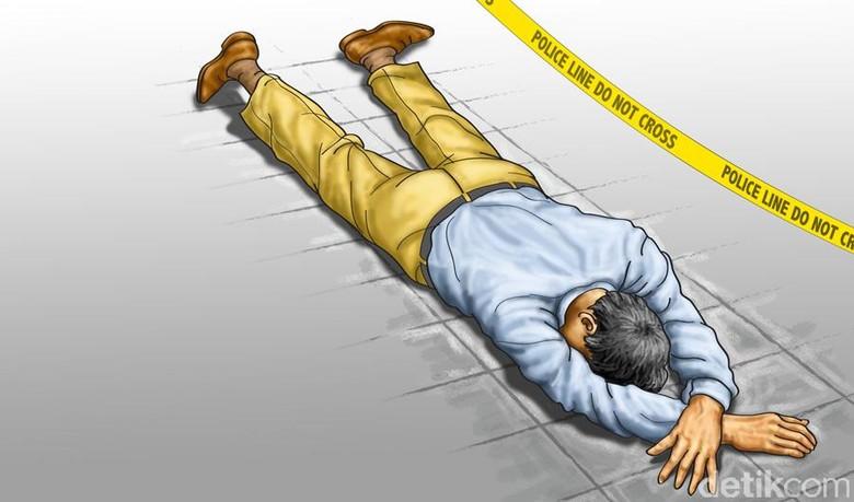 Asep Tewas Diduga Kena Peluru Nyasar Saat Polisi Gerebek Pejudi
