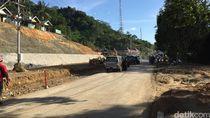 Menengok Pelebaran Akses Jalan Perbatasan Indonesia-Malaysia di Entikong