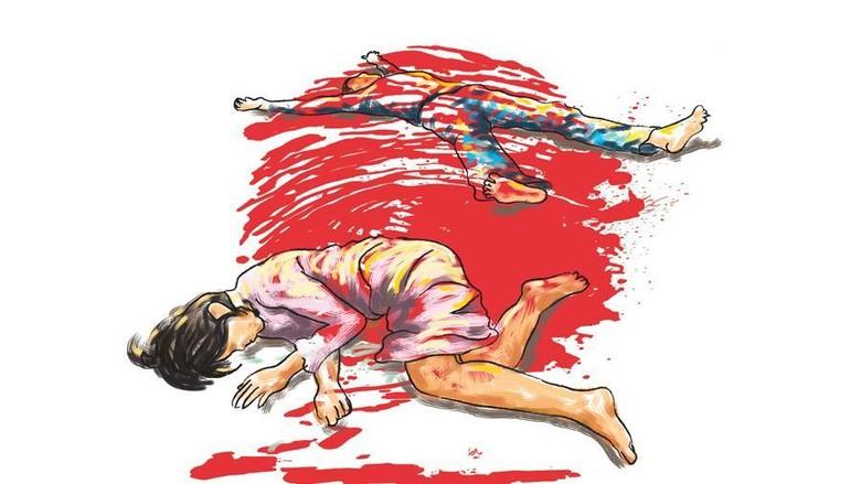 Seorang Suami di Banyuwangi Tusuk Istri Lalu Coba Bunuh Diri