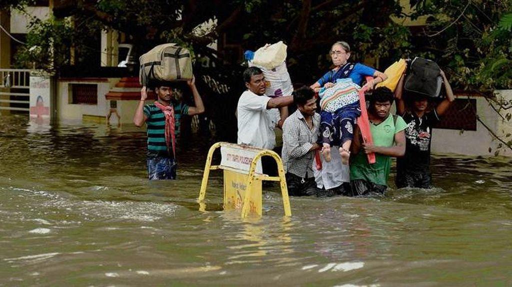143 Orang Tewas Akibat Banjir di India dan Nepal