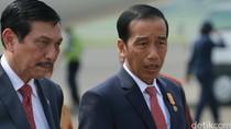 Foto: Deretan Purnawirawan Jenderal di Sekeliling Jokowi