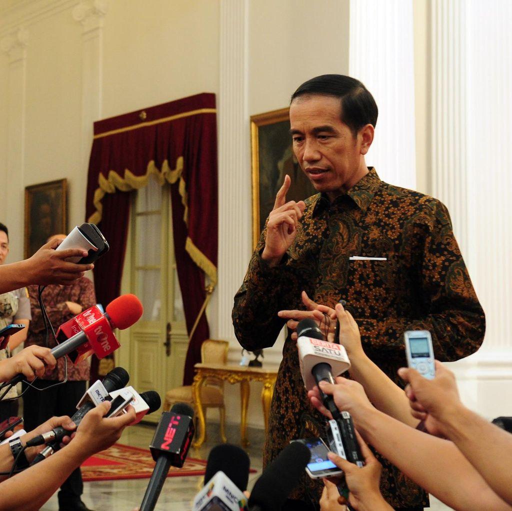 Belum Teken UU MD3, Jokowi Singgung Penurunan Kualitas Demokrasi