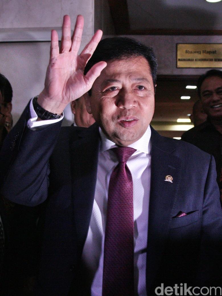Idrus Soal Novanto Didesak Nanti - Setya Lamhot Aritonang Jakarta Sekjen Golkar Idrus Marham menegaskan adanya sistem internal partai yang harus dipatuhi terkait munculnya