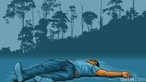Mayat Pria Ditemukan Tertelungkup di Persawahan Pati Jateng