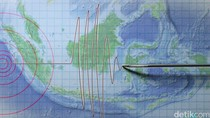 Gempa 4,5 SR Terjadi di Pesisir Barat Lampung
