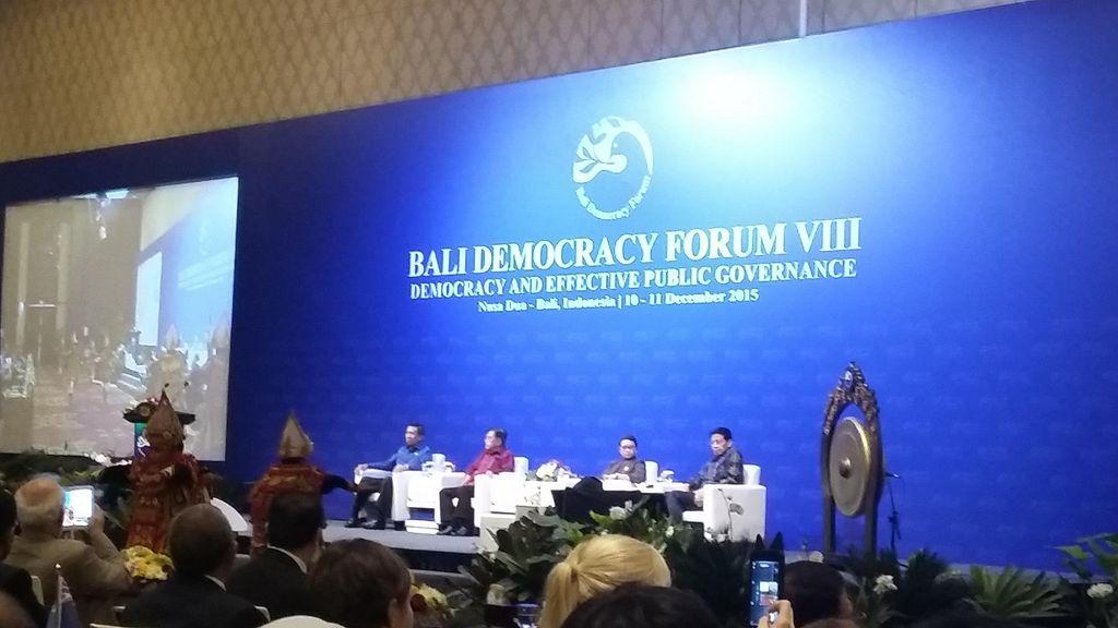 Erupsi Gunung Agung, Bali Democracy Forum Dipindah ke ICE BSD