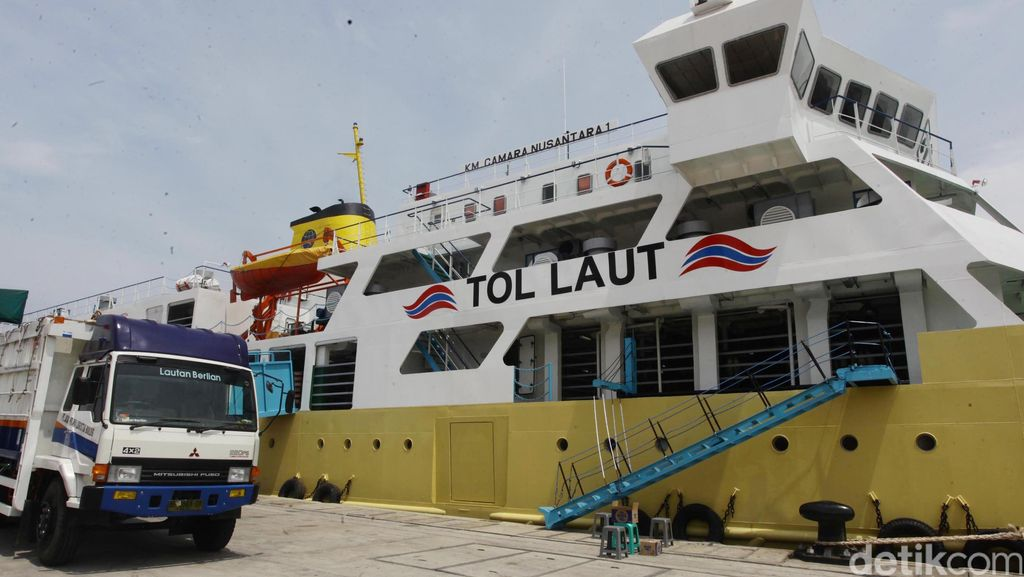 Masalah Kapal Tol Laut: Banyak Muatan Kosong Pas Balik ke Jawa