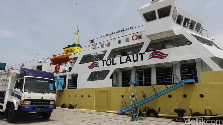 Lewat Tol Laut, Jokowi Buka Jalur Ekonomi dari Barat ke Timur RI