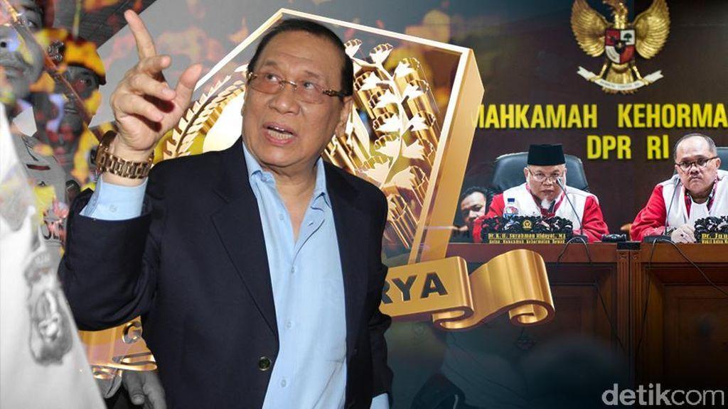 Kahar Muzakir, Pernah Dilantik Novanto hingga Bamsoet