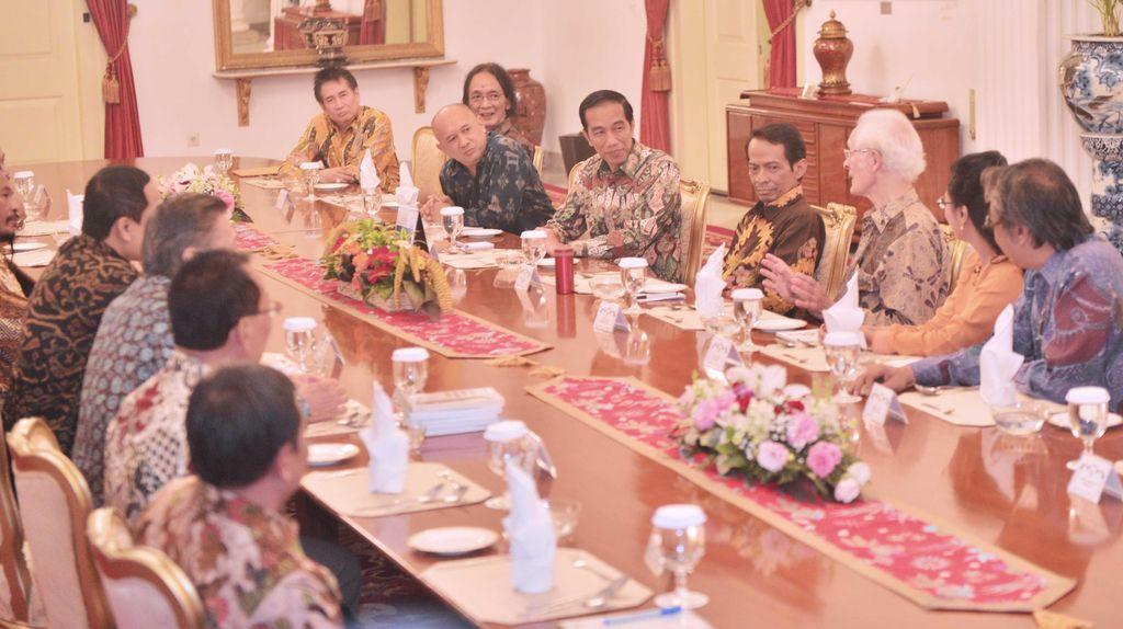 Makan Siang dengan Jokowi, Budayawan Usul Adanya Pembangunan Budaya