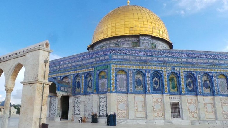 Dome of The Rock (Erwin Dariyanto/detikTravel)