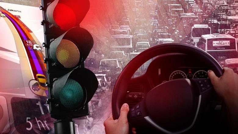 Tol Cikampek Macet 37 Km, Kendaraan Hanya Bisa Melaju 20 Km/Jam