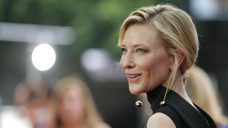 Cate Blanchett Nikmati Adegan Aksi di Thor: Ragnarok
