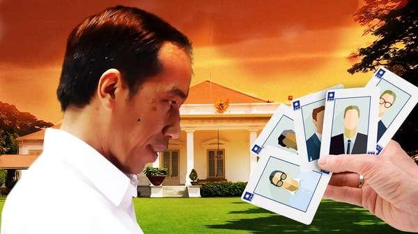 Reshuffle Kabinet Tunggu 2 Menteri Maju Pilgub?