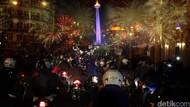 Ini Jalan yang Ditutup Saat Perayaan Tahun Baru di Ibu Kota