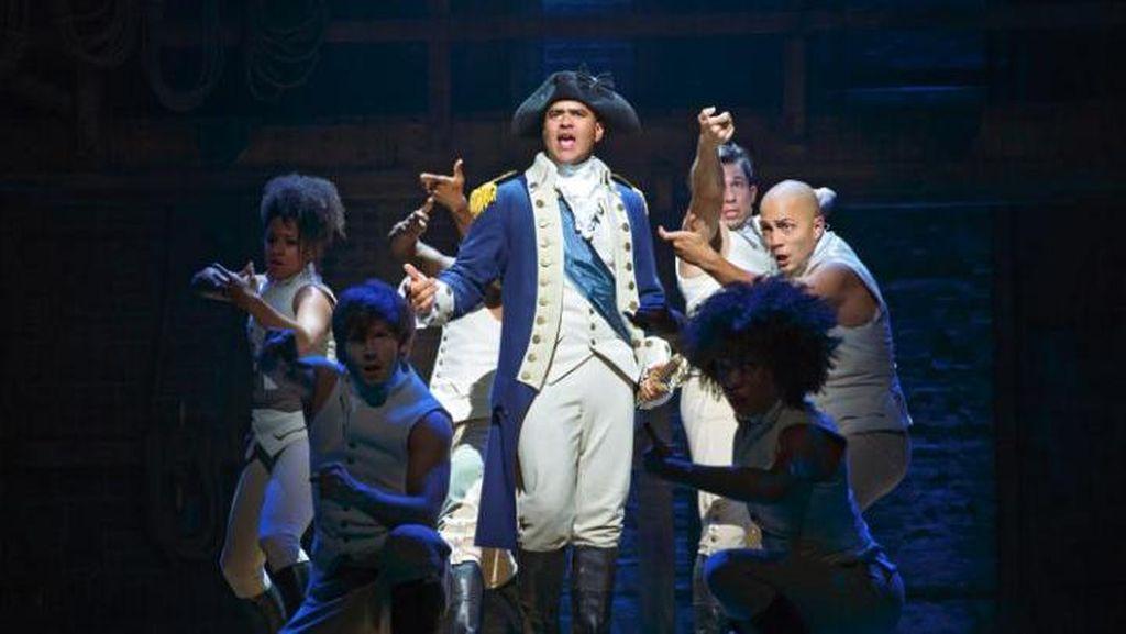 Musikal Hamilton Pecahkan Rekor Dapat Nominasi Terbanyak di Olivier