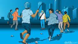Polisi Bubarkan Anak Sekolah yang Hendak Tawuran di Kampung Melayu
