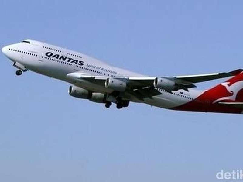 Mengudara 90 Menit, Pesawat Qantas Tujuan AS Kembali ke Australia