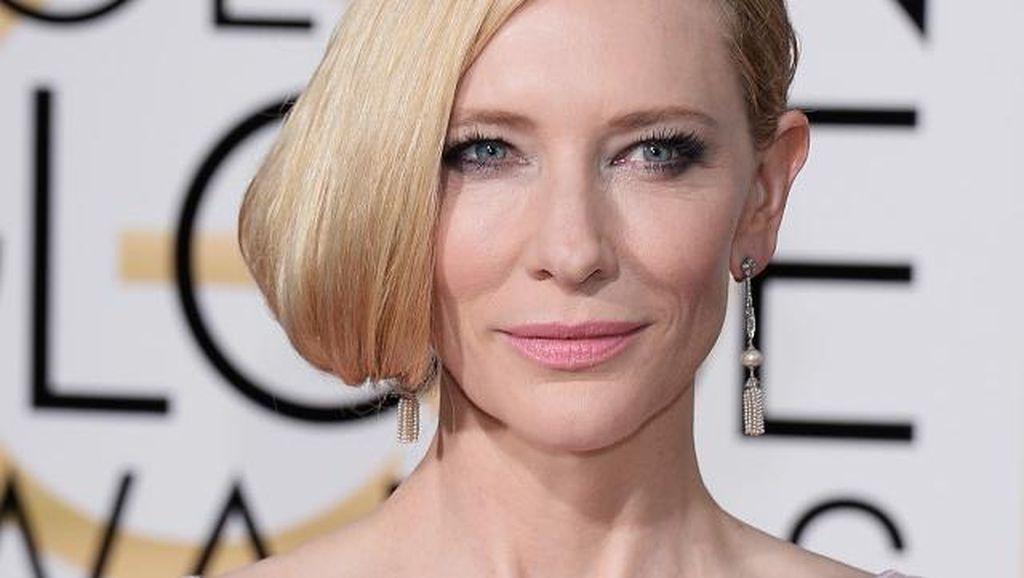 Cara Cate Blanchett Menyiasati Agar Bisa Punya Waktu Banyak dengan Anak