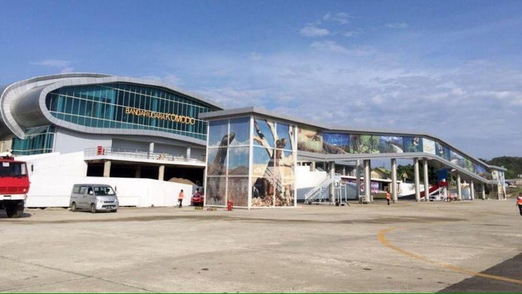 India dan Prancis Berminat Kelola Bandara Komodo di Labuan Bajo