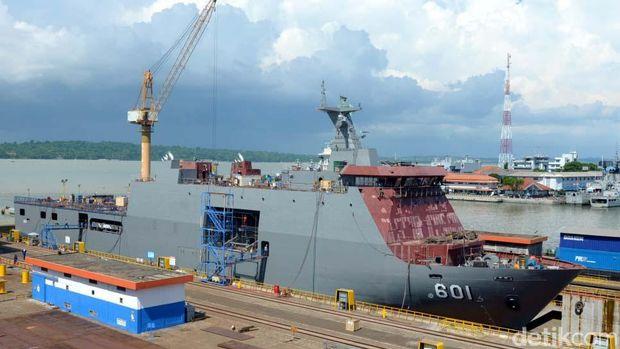 Kapal perang pesanan Filipina buatan PT PAL