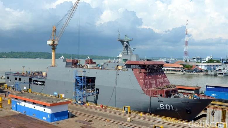 Kapal Perang Buatan Surabaya Diminati Nigeria