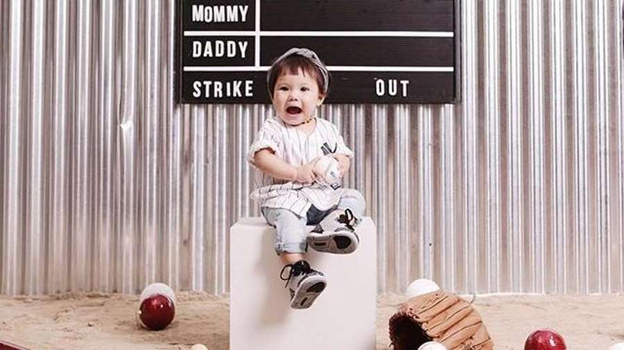 Gemes Maksimal! Gempita Marten Cute Jadi Anak Baseball