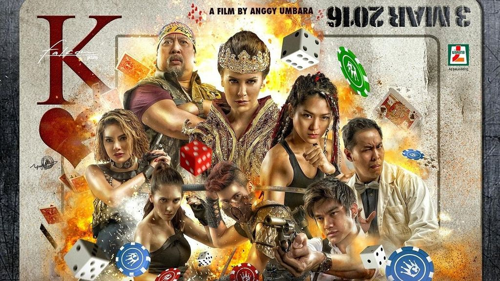 Babak Kocak Full Action di Sekuel Comic 8: Casino Kings