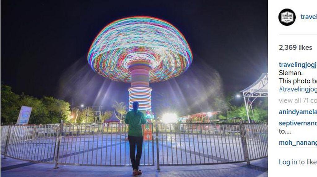 Foto Malam Hari di Kota Yogya, Ini 5 Objek Kerennya