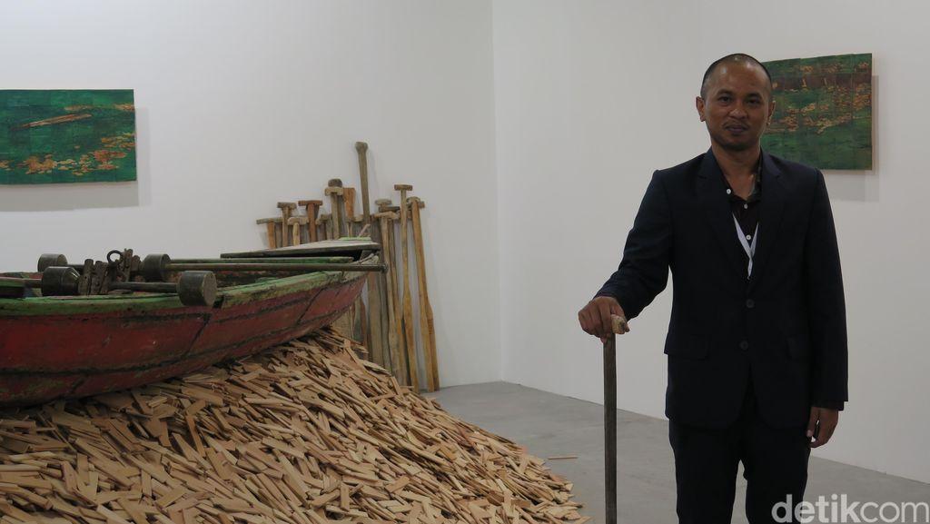 Aliansyah Caniago Pameran Tunggal Awal Desember
