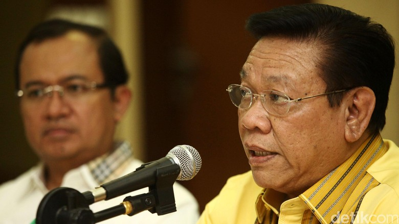 Agung Laksono soal Ketua DPR - Jakarta Ketua Dewan Pakar Golkar Agung Laksono meminta partainya tak gegabah menunjuk Ketua DPR baru pengganti Setya Agung