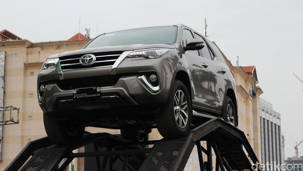 Toyota Fortuner Raup 30 Persen Kontribusi Ekspor Toyota