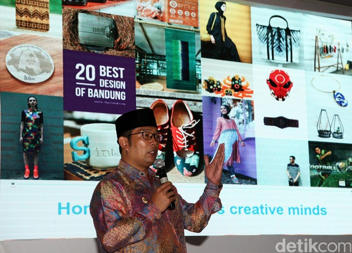 Ridwan Kamil Promosikan Bandung di Hadapan Investor