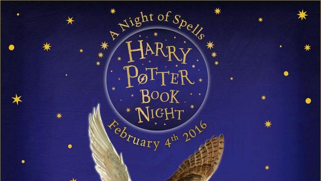 Expelliarmus! Seluruh Dunia Rayakan Malam Buku Harry Potter 4 Februari