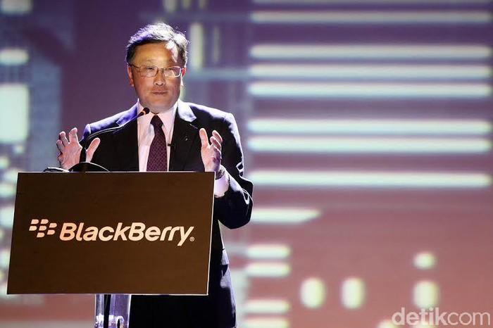 CEO BlackBerry John Chen (Foto: Achmad Rouzni Noor II/detikINET)