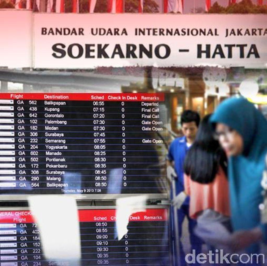 Muncul Asap di Terminal 2 Bandara Soekarno-Hatta