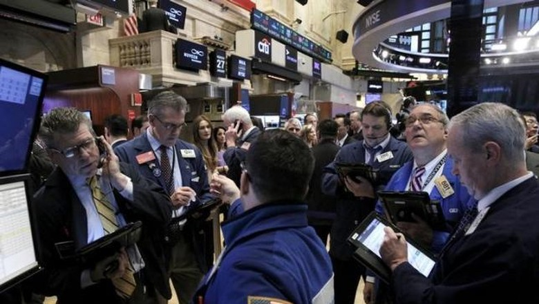 Data Ekonomi AS Kinclong, Wall Street Cetak Rekor