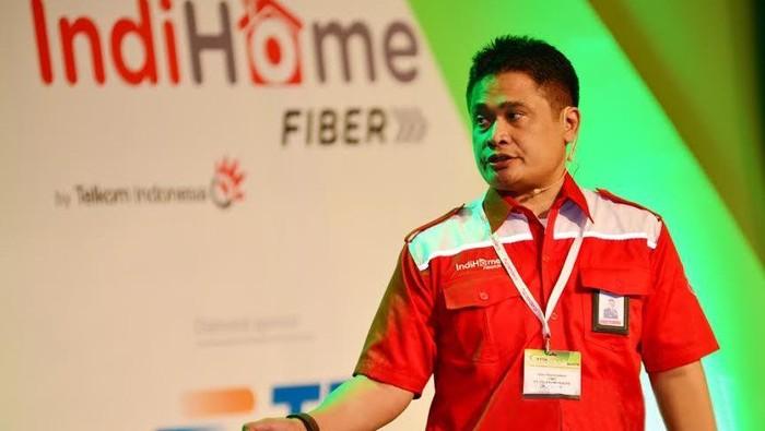 Direktur Consumer Telkom Dian Rachmawan (Foto: Telkom)