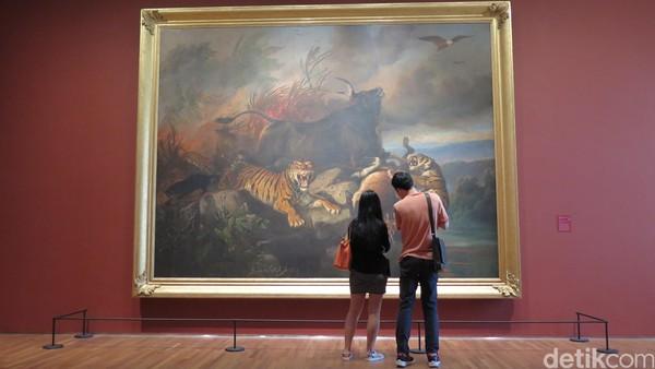Terjual Hampir Rp 150 M, Ini Kekuatan Lukisan-lukisan Raden Saleh