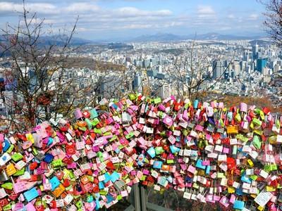 Abadikan Cintamu di Namsan Seoul Tower