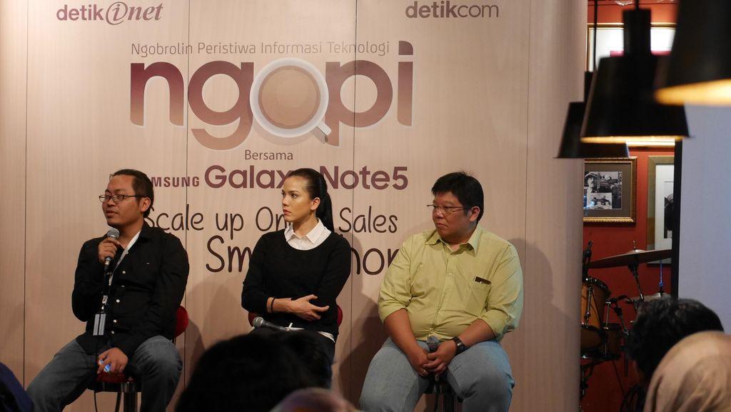 Begini Komitmen Samsung Dukung Penggiat Toko Online