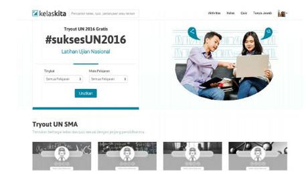 Jelang UN, KelasKita Tantang Ikuti Try Out Online