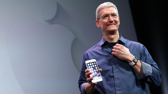 CEO Apple Tim Cook. Foto: GettyImages/Justin Sullivan