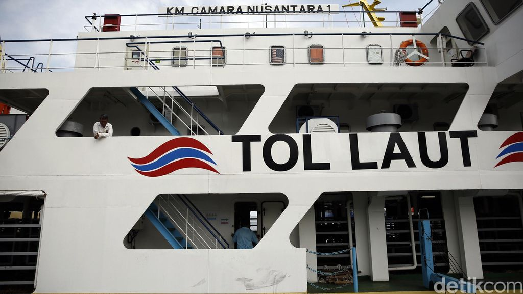 Akhir Februari, Kemenhub Luncurkan 3 Trayek Baru Tol Laut Jokowi