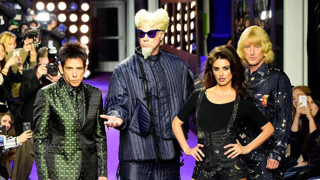 Fashion Show Kejutan yang Penuh Bintang di Premier Film Zoolander 2