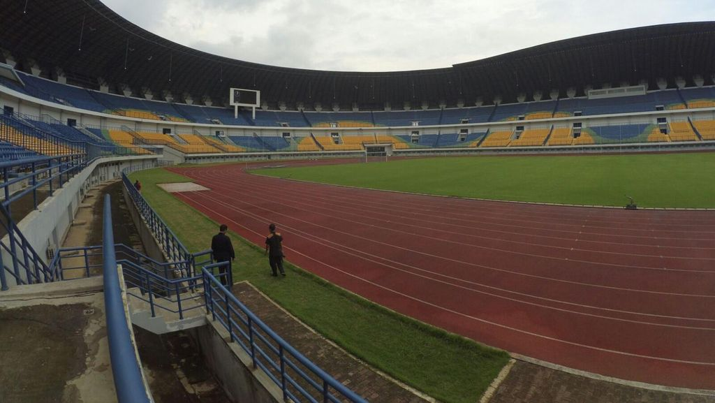 Stadion GBLA Tak Bisa Jadi Venue Piala Presiden