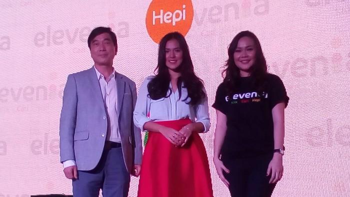 Elevenia saat menunjuk Raisa sebagai brand ambassador. Foto: detikINET/Rachmatunnisa