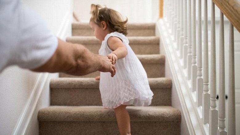 Ayah dan anak perempuannya/ Foto: ist