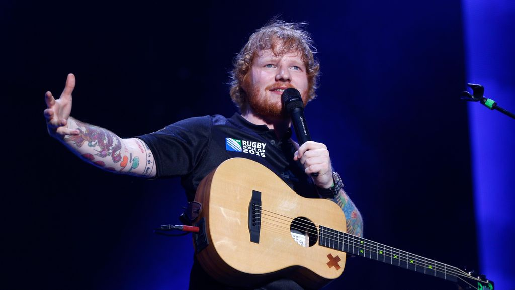 Ed Sheeran Jadi Musisi Terpopuler Spotify 2017