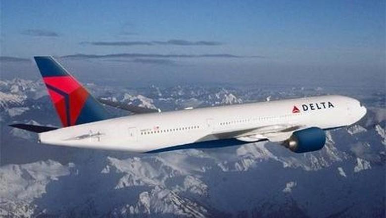 Ilustrasi pesawat maskapai Delta Airlines (Delta Airlines)
